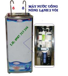 May loc nuoc uong nong lanh 2 voi