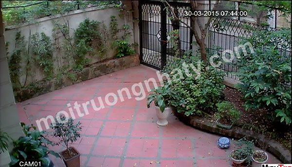 Camera giám sát cổng ra vào