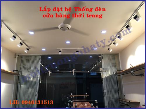 He thong dien cua hang shop thoi trang