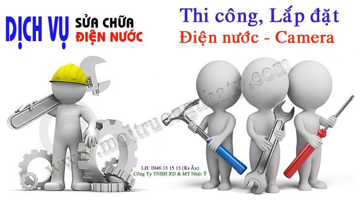 Tho sua chua dien nuoc tai nha Nguyen Anh Thu