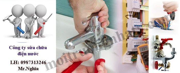 Công ty sửa chữa điện nước