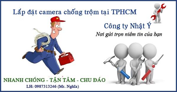 Lap dat camera chong trom TPHCM