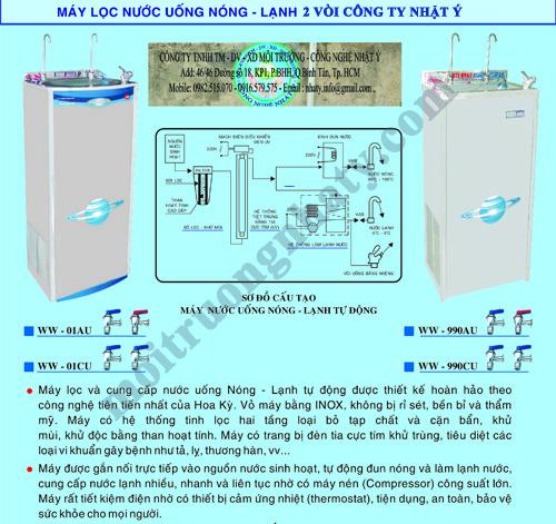 Huong dan su dung may nuoc uong nong lanh