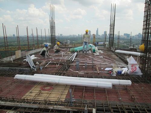 Lắp đặt điện công trình tại Phan Văn Hớn Hóc Môn