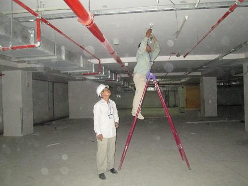 Lắp đặt thiết bị điện tại chung cư