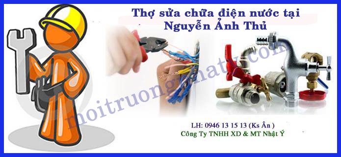 Tho sua chua dien nuoc tai Nguyen Anh Thu Hoc Mon
