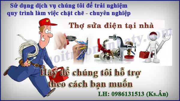 Tho sua chua dien nuoc tai Nguyen Anh Thu quan 12