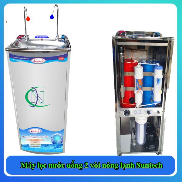Máy lọc nước uống 2 vòi nóng lạnh Suntech