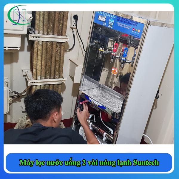 kiểm tra máy cấu tạo Máy lọc nước uống 2 vòi nóng lạnh Suntech